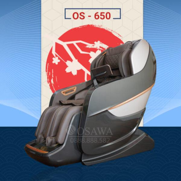 Ghế MASSAGE Toàn Thân OSAWA OS-650