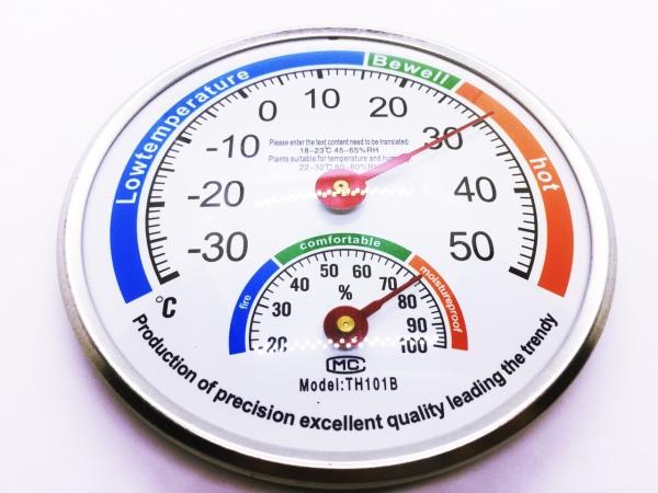 [HCM][Flash Sale] Nhiệt ẩm kế đo nhiệt độ phòng và ngoài trời cao cấp
