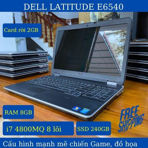 Bảng giá [Freeship, quà tặng 500k] Laptop Dell Latitude E6540 core i7 4800MQ RAM 8GB, ổ cứng SSD 240GB, cạc rời 2gb, màn hình 15.6 tặng bộ quà tặng trị giá 500k gồm cặp, sạc, chuột không dây, bàn lót di chuột - AIT Shop Phong Vũ