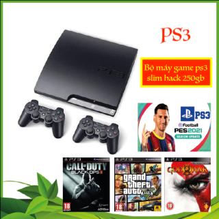 Máy Ps3 Slim - Playstation 3 Đời 2000 Cop Game Full Ổ Cứng - List Game Hơn 5000 thumbnail