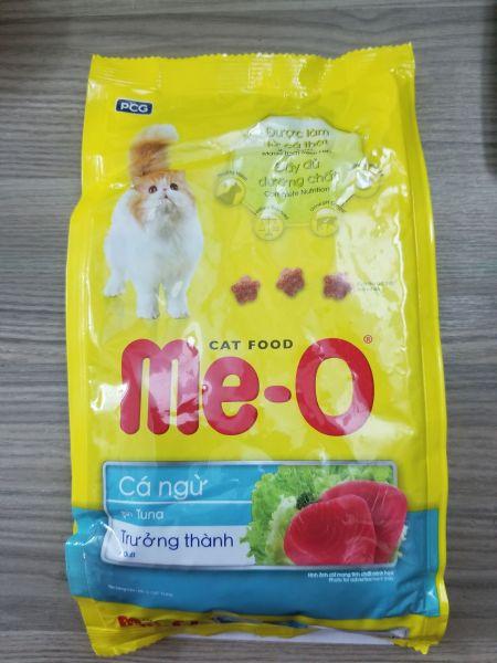 Thức ăn cho mèo vị cá ngừ/hải sản/cá thu Me-O Tuna/Sea food/Mackerel 350g
