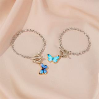 Lắc tay Lắc Tay Nữ hình con bướm thiết kế đẹp mắt dành cho nữ XB-L45 - Bảo Ngọc Jewelry thumbnail