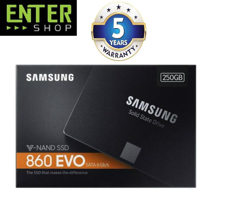 Ổ cứng SSD 250GB Samsung 860 Evo 2.5-Inch SATA III (MZ-76E250BW)