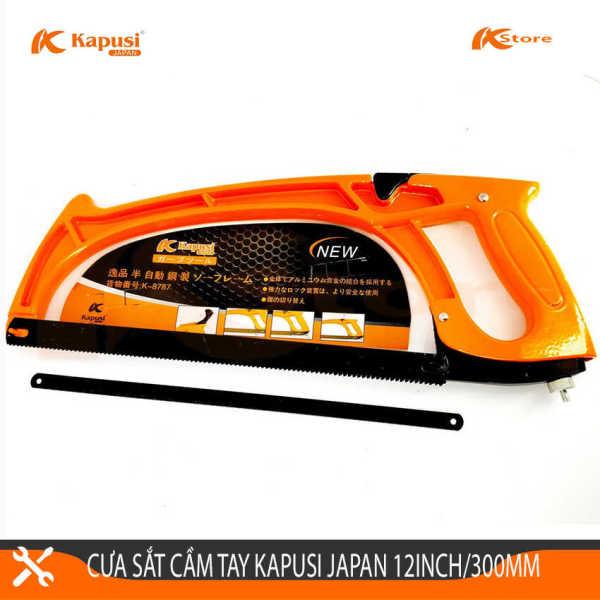 Cưa Sắt Cầm Tay Cao Cấp Kapusi Japan 12inch/300mm. Cưa Sắt Đa Năng Cam Kết Hàng Chính Hãng Bảo Hành 6 Tháng