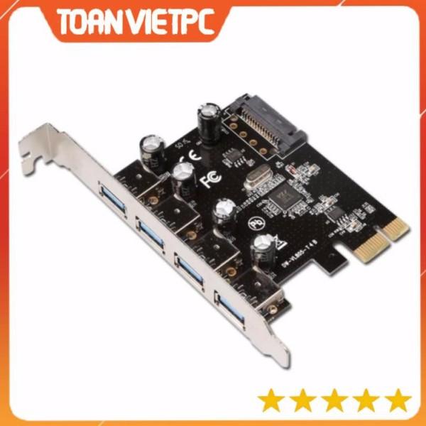 Giá Card chuyển đổi PCI Express to USB 4 cổng 3.0 - 2 CỔNG