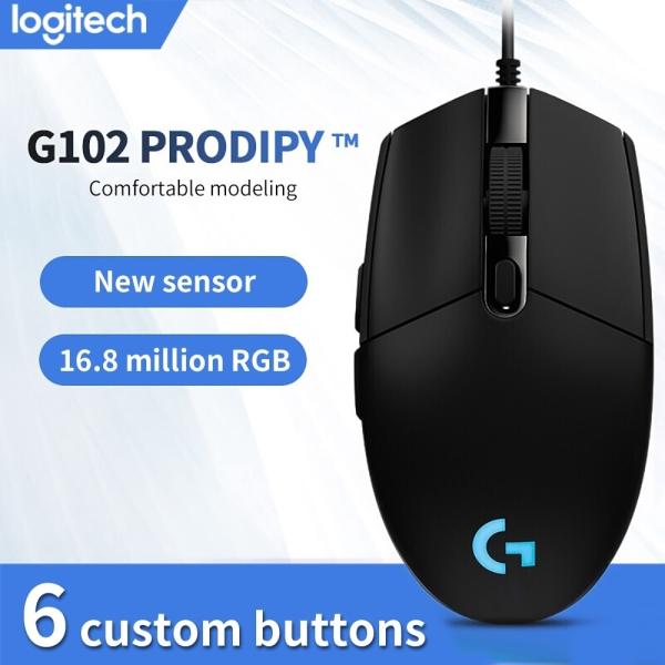Bảng giá Chính Hãng Logitech - Chuột Có Dây Logitech G102 Prodigy RGB LED - 8000DPI Bảo Hành 12 Tháng Phong Vũ