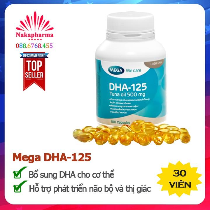 Dầu cá ngừ Mega We Care DHA-125 – Bổ sung DHA, tốt cho não bộ và thị giác