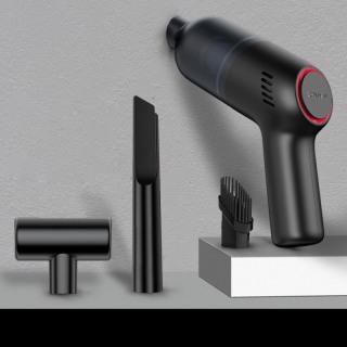 Máy hút bụi cầm tay mini, lực siêu mạnh 8000pa, máy hút bụi mini không dây 120W loại sạc pin thumbnail