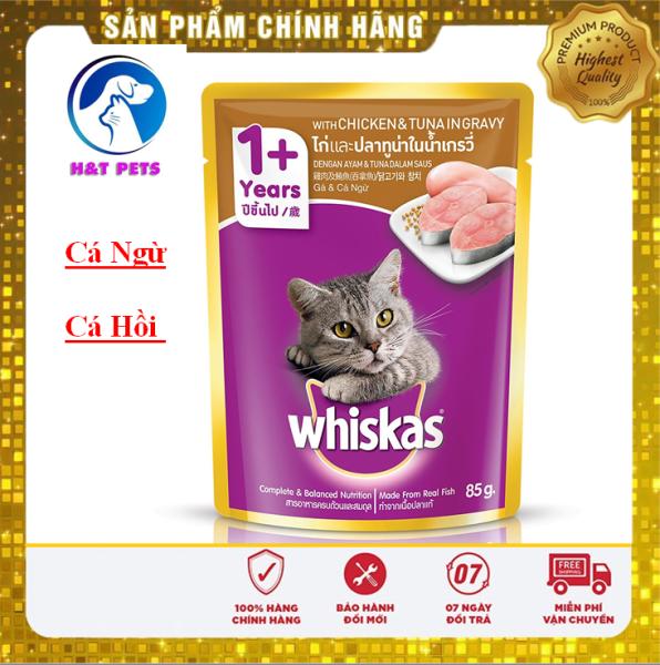 COMBO 24 GÓI Pate mèo Whiskas 85g