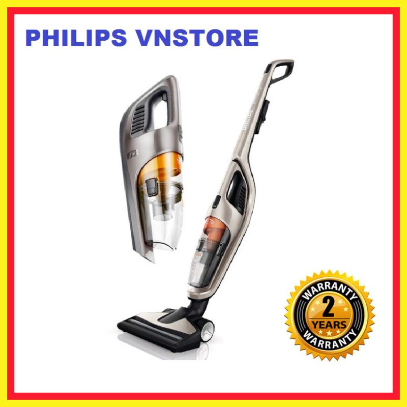 Máy hút bụi cầm tay 2 trong 1 FC6168, không túi, 18 V, 2 phụ kiện, làm sạch kỹ càng trên tất cả các loại sàn