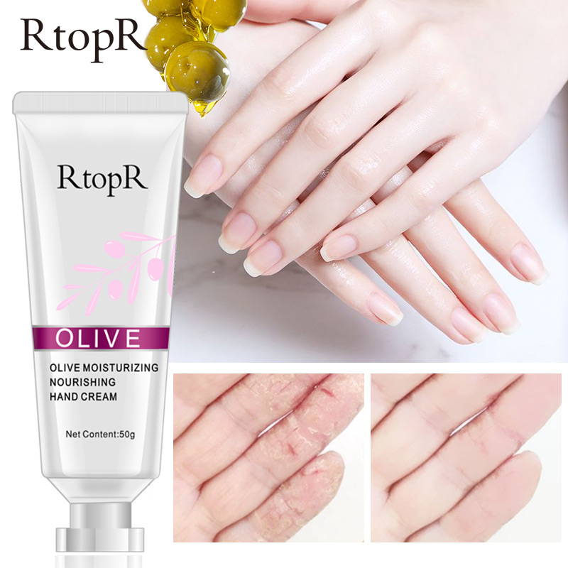 Kem dưỡng ẩm và làm trắng da tay từ tinh chất dầu oliu RtopR - INTL