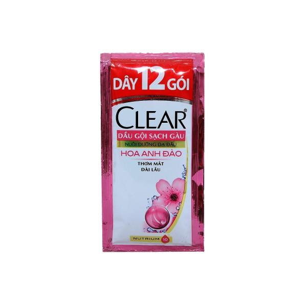 CLEAR DẦU GỘI HƯƠNG HOA ANH ĐÀO 6GX12DÂY nhập khẩu