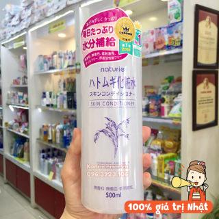 [Hàng Nhật Auth] Nước hoa hồng Ý Dĩ Naturie Hatomugi Skin Conditioner Nhật 500ml, Lotion ý dĩ, toner thumbnail