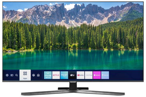 Bảng giá Smart Tivi Samsung 4K 50 inch UA50TU8500 Mới 2020, Hệ điều hành Tizen OS,Tìm kiếm giọng nói bằng Tiếng Việt (Hỗ trợ trong Youtube), Trợ lí ảo Bixby Ambient Mode Remote cài sẵn phím Netflix và PrimeVideo, bấm và mở ứng dụng dễ dàng