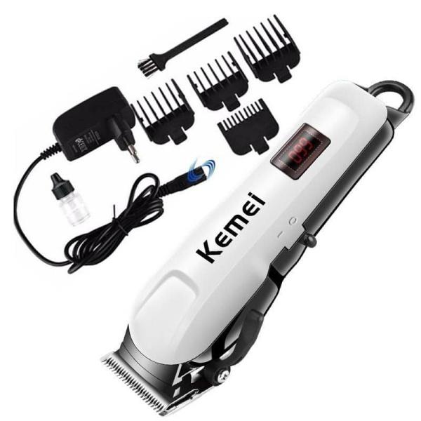 [HCM]Tông đơ cắt tóc Kemei KM-809A/KM-1407/KM-730 Cắt tóc chuyên nghiệp PIN Sạc tiện lợi chống nước hàng loại tốt