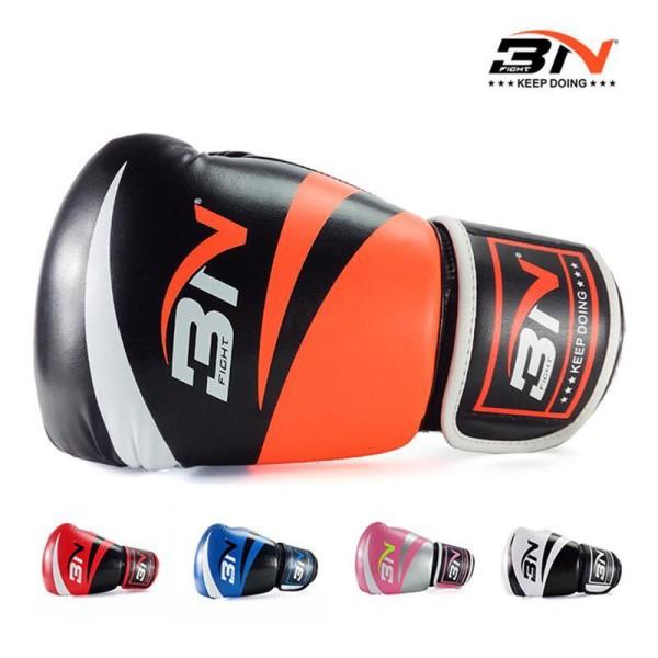 Găng Tay Boxing, Găng Tay Đấm Bốc, Găng Tay BN Cao Cấp Nhiều Màu Đủ Màu Đủ Size Chính Hãng BN ( 1 cặp )