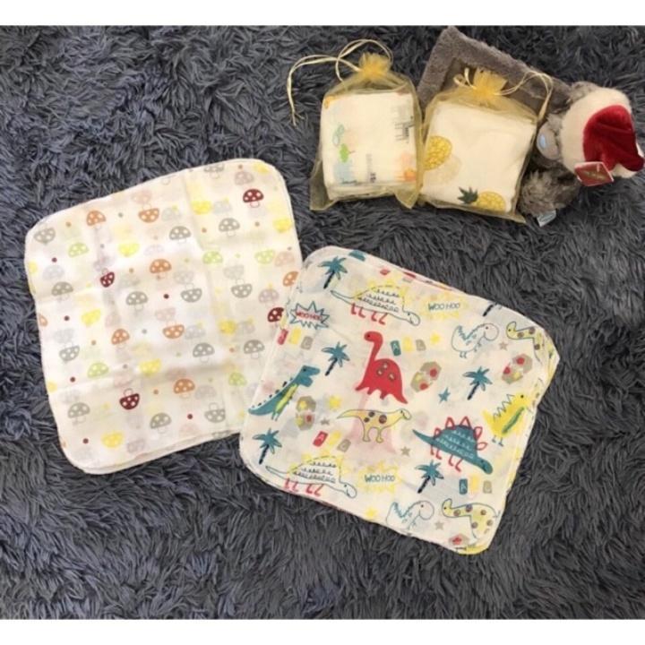 10 chiếc khăn xô sữa (khăn ăn) khăn sữa Aden...