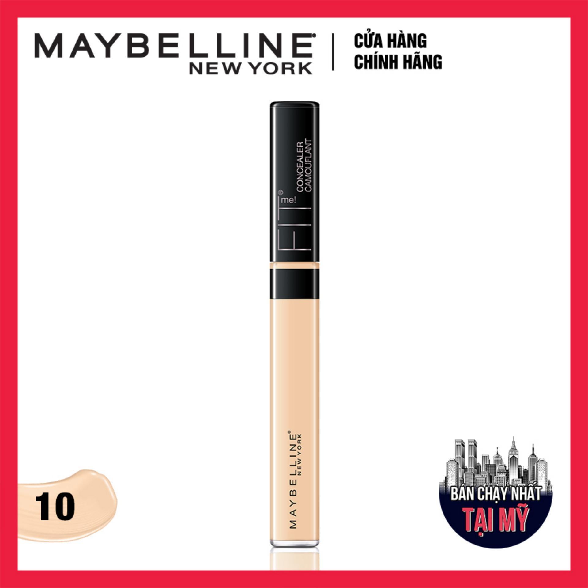 Giá Quá Tốt Để Có Kem Che Khuyết điểm đa Năng Maybelline New York Fit Me Concealer 10 Light