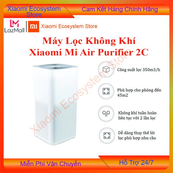 [BH chính hãng, Tặng MGG 100k] Máy lọc không khí Xiaomi Mi Air Purifier 2C FJY4035GL | phòng đến 43m2 | 3 công suất hoạt động | XIAOMI ECOSYSTEM STORE