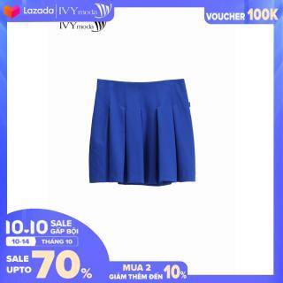 Chân váy xếp ly dáng ngắn Basic trẻ trung IVY moda MS 30M9936 thumbnail