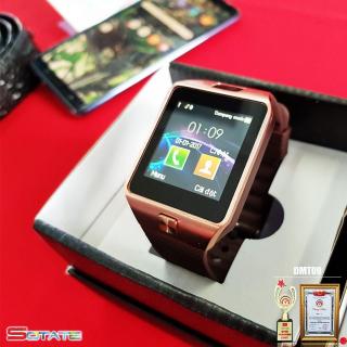 Đồng hồ điện thoại smartwatch DZ09 (Vàng) thumbnail