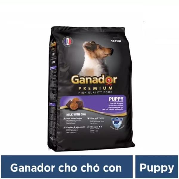 Hanpet Thức ăn cho chó Ganador Puppy 400g Thức ăn cho chó nhỏ có sữa và DHA giúp chó con thông minh  HCM