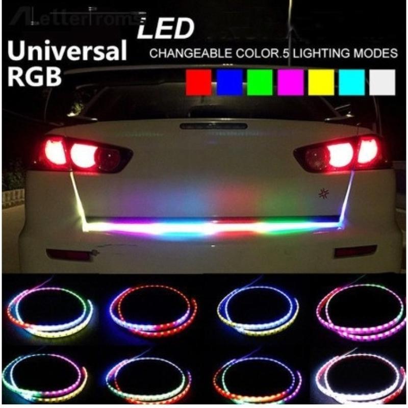 Dây Đèn LED Nhiều Màu 1.2M 12V Cốp Xe Nhiều Mầu