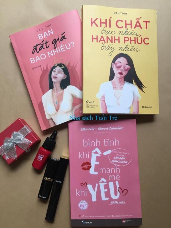 Mua Combo 3 sách: Khí chất bao nhiêu hạnh phúc bấy nhiêu, Bình tĩnh khi ế mạnh mẽ khi yêu, Bạn đắt giá bao nhiêu