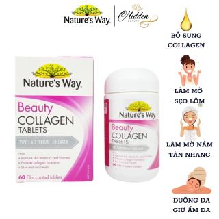 Viên Uống Đẹp Da Nature S Way Beauty Collagen Booster Nature S Way, hộp 60 Viên- Hidden Beauty thumbnail