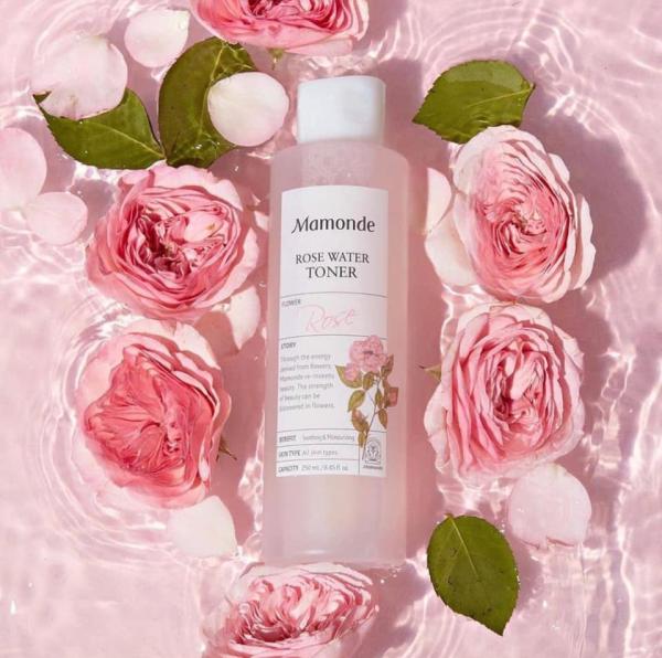 Nước Hoa Hồng dành cho mọi loại da Mamonde Rose Water Toner 250ML