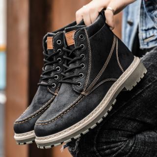 Giày cao cổ nam Fashion kiểu dáng đường phố bụi bặm mẫu mới 2020 thumbnail