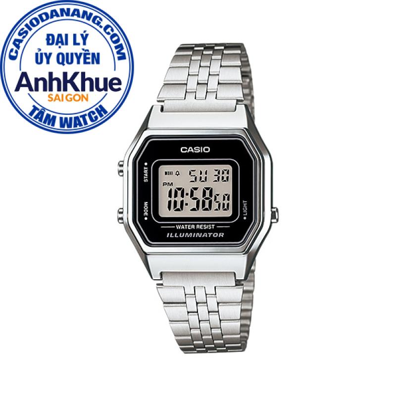 Đồng hồ nữ dây kim loại Casio Standard chính hãng Anh Khuê LA680WA-1DF
