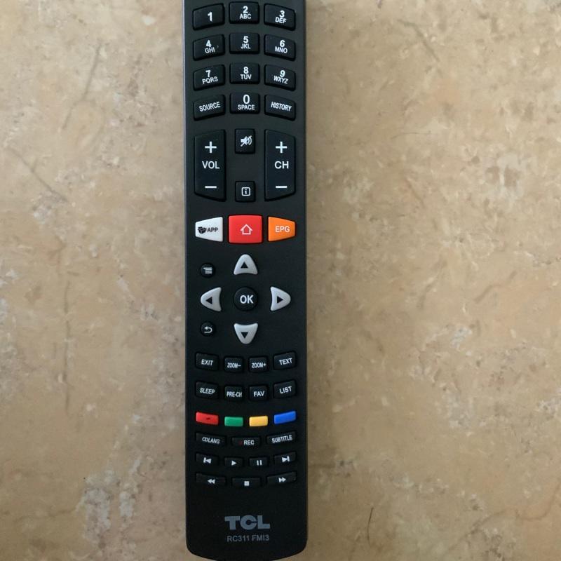 Bảng giá Điều khiển tivi TCL Smart (RC311FM13)