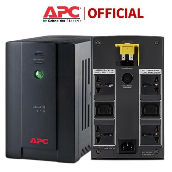 Bảng giá [Có bình, Bh 2 Năm] Bộ lưu điện APC BX1100LI-MS Back-UPS 1100VA, 230V, AVR, Universal and IEC Sockets - Hàng chính hãng Phong Vũ