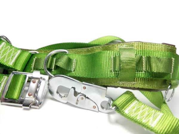 Dây an toàn lao động  có ghế ngồi, dây bảo hiểm leo núi, leo cây, cột điện loại 1 ( màu xanh lá)