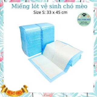 Combo 10 miếng lót vệ sinh dùng lót đáy chuồng, thấm nước tiểu cho chó mèo - Size S 33x45cm thumbnail