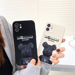 Ốp lưng iphone vuông cạnh hình bearbrick cho iphone 6 đến 12promax shincase e01 thumbnail