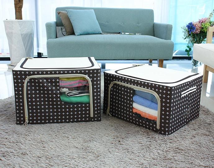 Hộp đựng đồ Living Box 66L, Giá tháng 9/2020