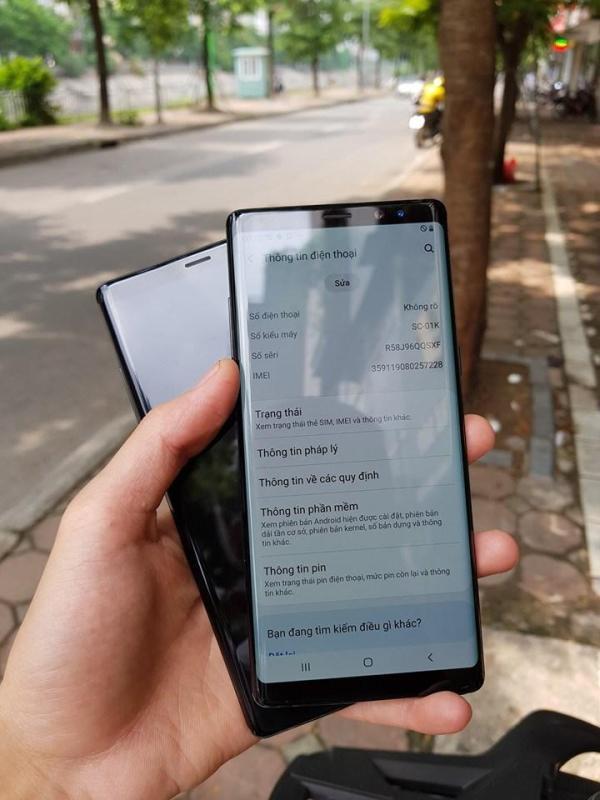PLAYMOBILE BẢO HÀNH 12 THÁNG||TRẢ GÓP 0%||Điện Thoại Samsung Galaxy Note8 (6/64GB), Màn hình 6.3inch 2K, Chip Snapdragon 835, 1Nano Sim, Pin 3300mA