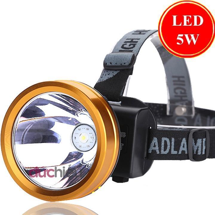 [ loại to ] Đèn pin đội đầu siêu sáng có ánh sáng vàng A3, đèn đội đầu, đèn pin đeo đầu, đèn pin đeo trán, đèn soi ếch, đèn bắt ếch - Đức Hiếu Shop