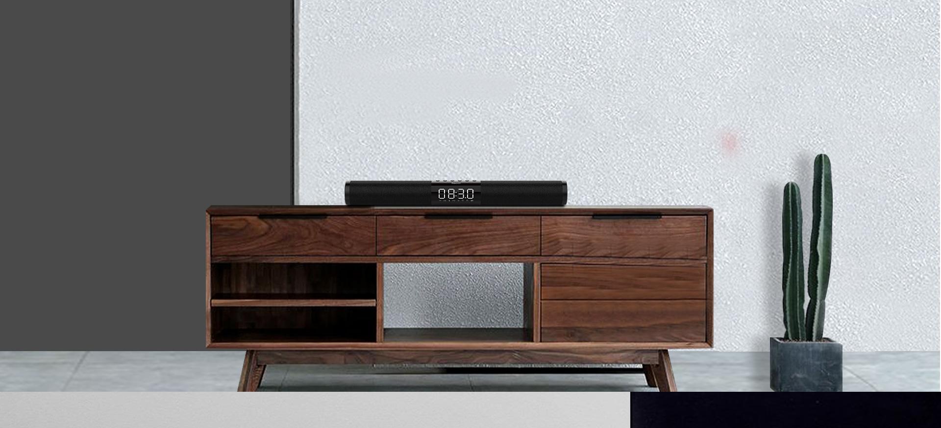 [ SẢ KHO ] Loa Bluetooth SoundBar Recci R1, Loa Bluetooth Không dây Siêu Trầm, Pin 2200mAh Cung Cấp 10 giờ sử dụng, Âm thanh 360, Nhận Cuộc Gọi Dễ Dàng..Bảo Hành 12 Tháng, Lỗi 1 Đổi
