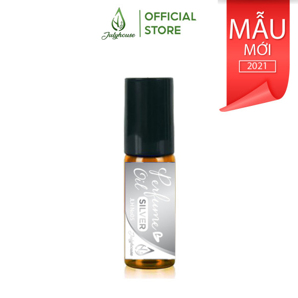 Nước hoa tinh dầu Unisex dạng chai lăn Silver No.05 5ml JULYHOUSE giá rẻ