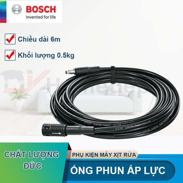 Phụ kiện Máy Phun Xịt Rửa Cao Cấp Ống phun áp lực nối dài 6m Bosch F016800361