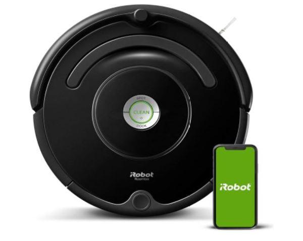 (Hàng Đức) Robot hút bụi iRobot Roomba 671, kết nối Wifi, làm sạch mọi bề mặt