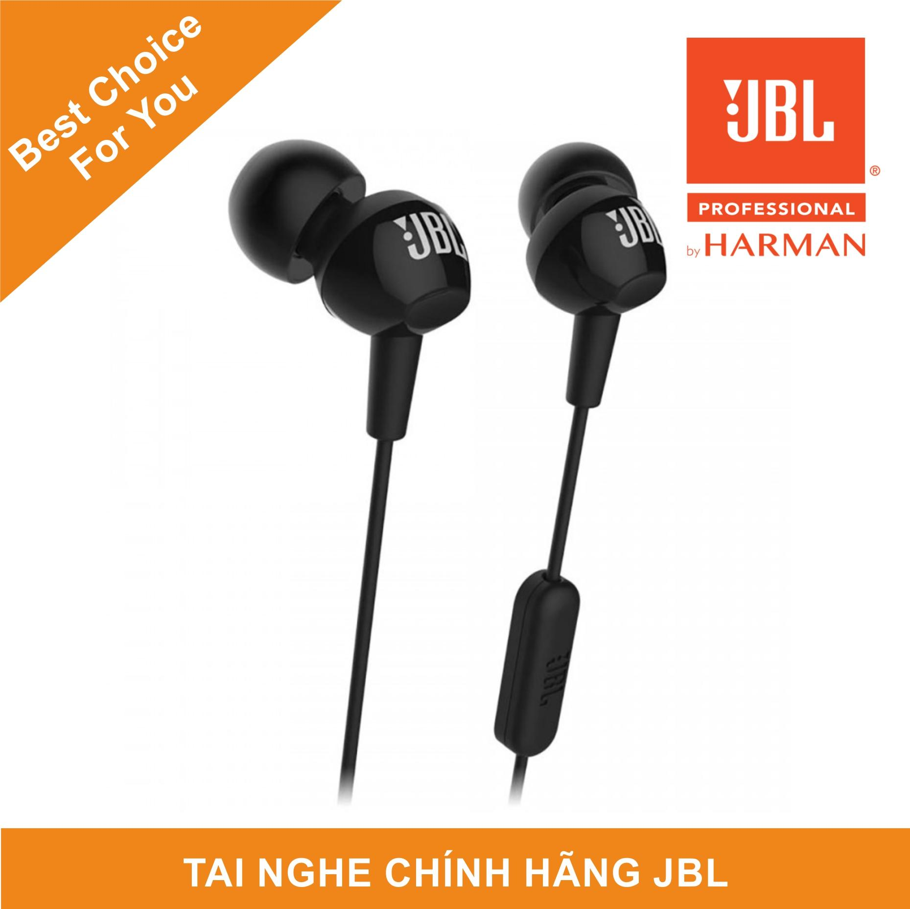 Tai Nghe Nhét Tai JBL C150SI - Bảo Hành 6 Tháng - Tai Nghe Cực Nhỏ, Năng động Trong Tai - Driver 9mm Mạnh Mẽ Có Giá Tốt