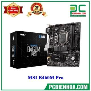 Mainboard MSI B460M Pro ( LGA1200 M-ATX 2xDDR4 ) thumbnail