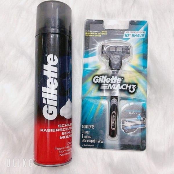 Kem bọt cạo dâu Gillette Foamy Regular Originale 300 ml giá rẻ