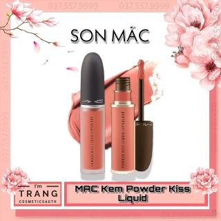 Son Mac Kem Powder Kiss Liquid Lipcolour, Son Kem Lì Mac Full Size 5g thumbnail