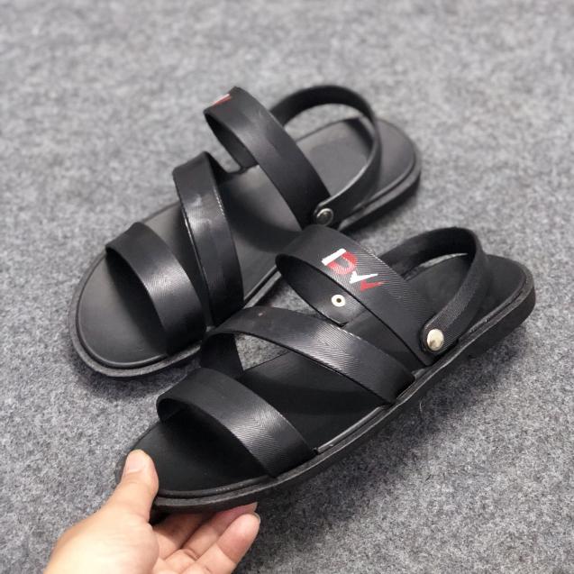 Sandal Cao Su Nam Đi Mưa Phong Cách GV701 (Có Quai Hậu) giá rẻ