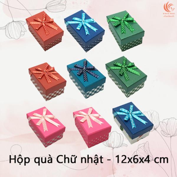TẶNG THIỆP - Hộp Quà Chữ Nhật Phượng Hoàng C028 - 12 x 6 x 4 cm